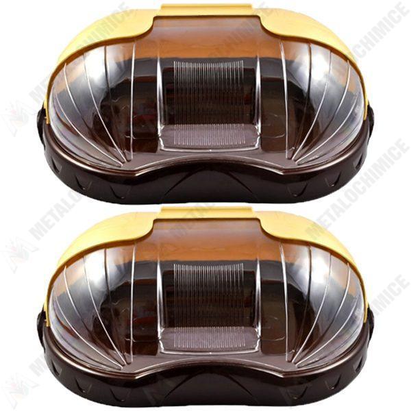 pachet 2 bucati cutie pentru paine sterk