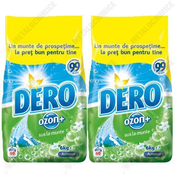 Pachet 2 bucati - Detergent, Dero ozon, 2 x 6 kg