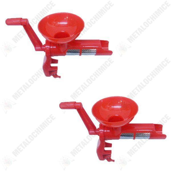 Pachet - 2 x Masina de tocat rosii