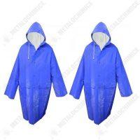 Pachet 2 bucati, Pelerina de ploaie impermeabila XL Albastru  din categoria Cizme si pelerine de ploaie