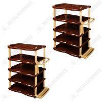 Pachet 2 bucati - Raft pantofi lux 5 etaje Crem - Maro, Pantofar  din categoria Diverse mobilier