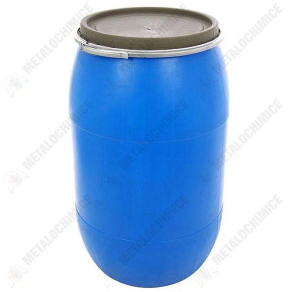pachet 2 x butoi plastic 85l cu capac si cerc metalic 2 x presa muraturi 45cm teava de suflat 2
