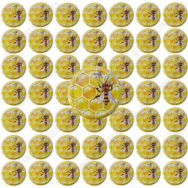 Pachet 250 bucati - Capac borcan 66mm (Albina), Capace pentru borcane din sticla prin infiletare