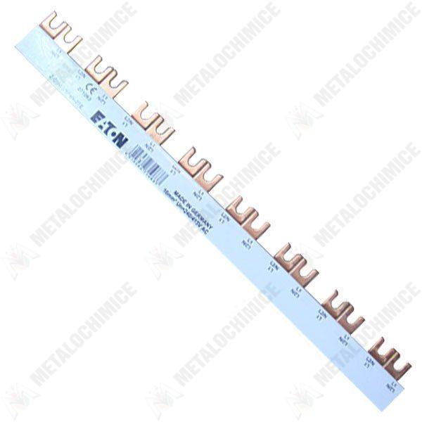 Pachet 3 bucati - Bara bipolara 1M, Pol+nul, Pentru tabloul de siguranta