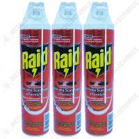 Pachet 3 bucati, Raid, Spuma pentru gandaci, 400ml  din categoria Spray-uri
