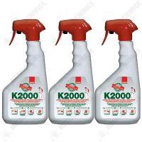pachet 3 bucati sano k2000 insecticid universal otrava gandaci plosnite purici muste tantari molii omizi greieri echivalent regent 3 x 750ml