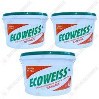 Pachet 3 bucati - Vopsea lavabila de exterior, Ecoweiss, 5L  din categoria Vopsea Lavabila