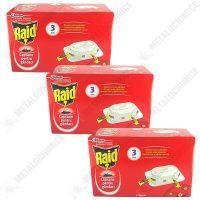 pachet 3 cutii raid capcane pentru gandaci furnici plosnite 3 x 6buc cutie