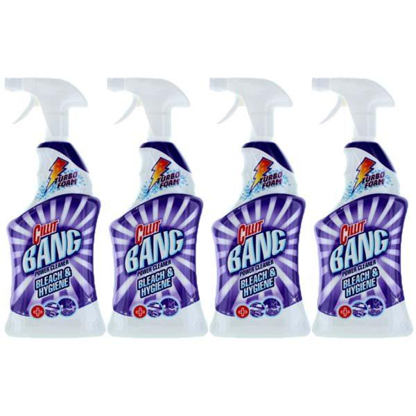 Pachet 4 bucati - Cillit bang dezinfectant, Pentru baie si bucatarie, 4 x 750ml