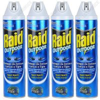 pachet 4 bucati raid outdoor spray anti gandaci si furnici 4 x 400ml