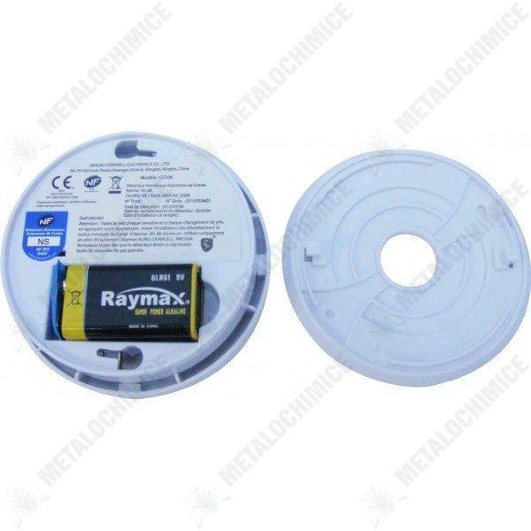 pachet 4 bucati senzor detector de fum 3