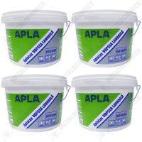 Pachet 4 bucati - Vopsea lavabila de interior, Aplalux, 2.5L  din categoria Vopsea Lavabila
