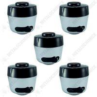 Pachet 5 bucati - Perlator baterie sanitara, sita baterie, cap dus, reglabil, 2 functii  din categoria Baterii baie si bucatarie