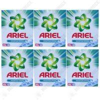 pachet 6 bucati ariel mountain spring detergent automat la cutie 6 x 400 g