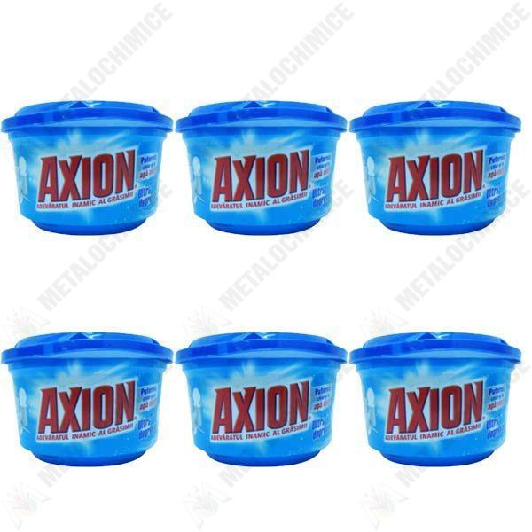 Pachet 6 bucati - Axion, Ultra degresant, Pasta pentru curatat vase, 6 x 400g