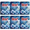 Pachet 6 bucati - Bref duo cubes blue 2in1, Odorizant bazin wc, 6 x 50g