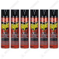 Pachet 6 bucati - Raid, Spray anti-insecte taratoare, Gandaci, 6 x 400ml  din categoria Spray-uri
