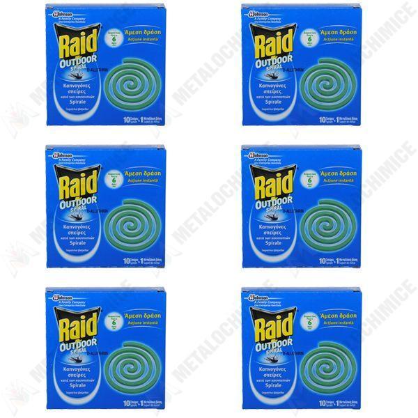 pachet-6-bucati-spirale-antitantari-pentru-exterior-raid-6-x-10-spirale