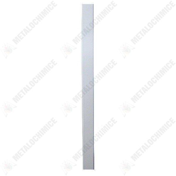 Pachet 6 metri - Profil din aluminiu, Pentru plase insecte/tantari, Alb