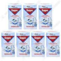 pachet 7 bucati baygon rezerva lichida 2 in 1 impotriva tantarilor 45 nopti pentru aparat electric 27ml
