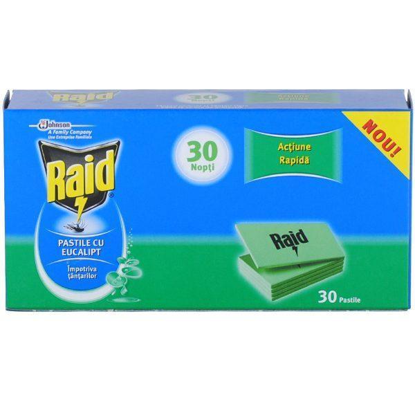 raid-30-nopti-pastile-eucalipt