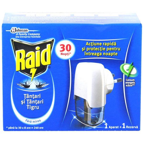 Aparat anti tantari Raid lichid
