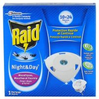 raid night and day rezerva aparat