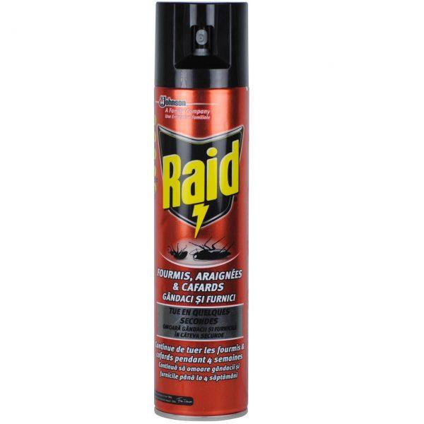 Spray anti-insecte taratoare Raid 400ml