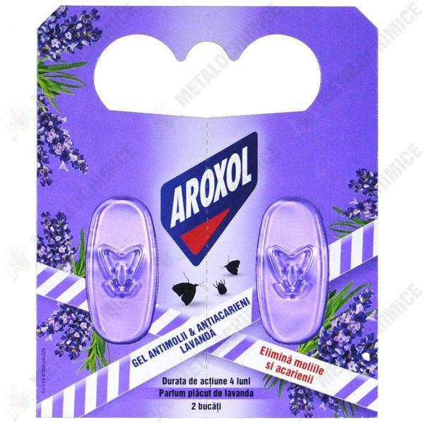 Pachet - 10 x Tablete gel Aroxol antimolii si antiacarieni 3,2 g