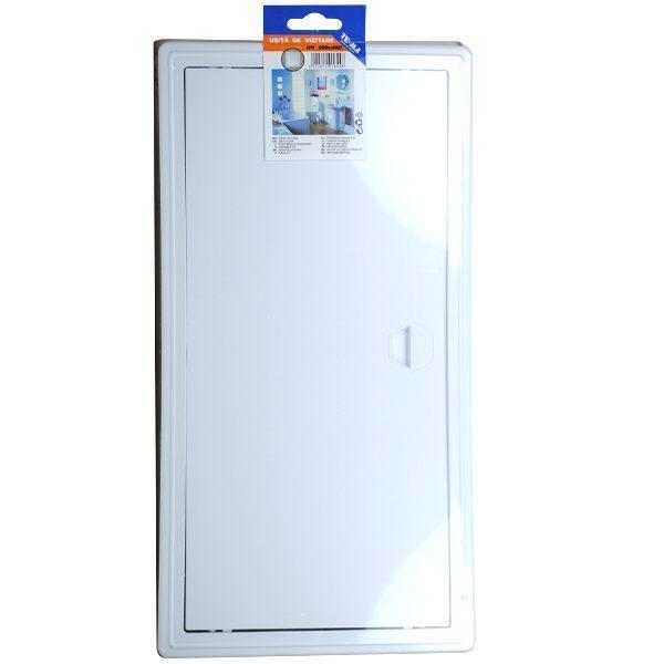 Pachet - 2 x TE-MA, Usita de vizitare, 200 x 400 mm + 2 x Den Braven, Silicon universal alb, 1001U, 280 ml