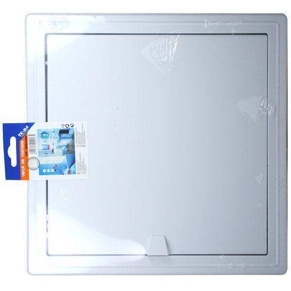 Pachet - 2 x TE-MA, Usita de vizitare, 300 x 300 mm + 2 x Den Braven, Silicon universal alb, 1001U, 280 ml