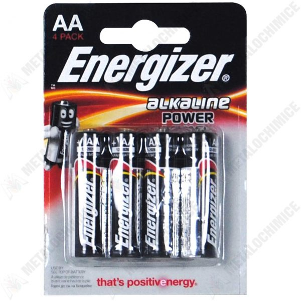 Baterii alcaline Energizer AA/LR6