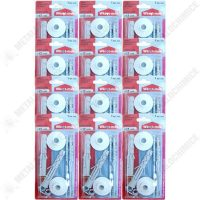 pachet 12 bucati set dibluri pentru fixare lavoar