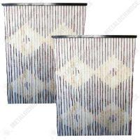 Pachet 2 bucati - Perdea muste, Din bambus, Pentru usa  din categoria Perdele