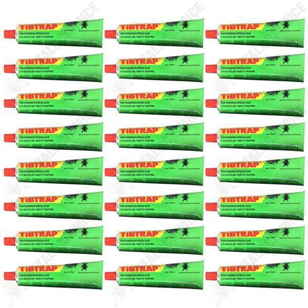 Pachet 24 bucati - Lipici pentru soareci, La tub 100ml, Capcana sobolani, Cursa pentru soricei