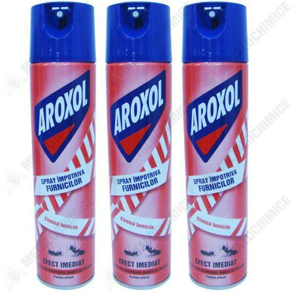 pachet-3-bucati-aroxol-spray-furnici-insecticid-400ml