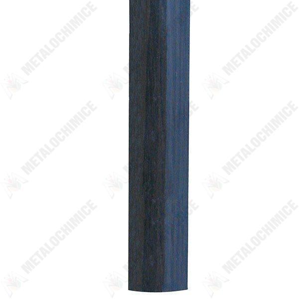 Pachet 4 bucati - Prag trecere, Din metal, Imitatie lemn, Maro inchis, 93 cm