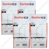 pachet 4 cutii dibluri ancora fischer pentru rigips 4 x 25 buc
