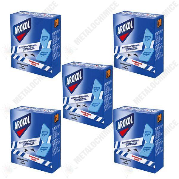 pachet-5-cutii-aroxol-pastile-tablete-impotriva-tantarilor-mustelor-pentru-aparat-electric-5-x-30buc-cutie