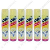 pachet 6 bucati cobra insecticid universal 400ml