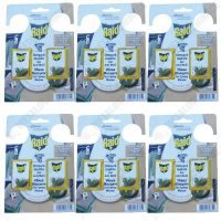 pachet 6 bucati gel anti molii raid cedru 2 x 3g