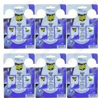 pachet 6 bucati gel anti molii raid lavanda 2 x 3g
