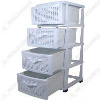 Dulap 4 sertare alb  din categoria Diverse mobilier