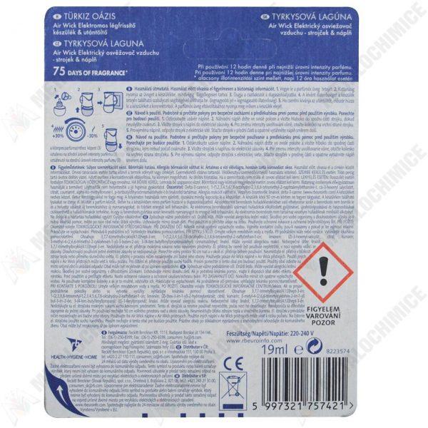 Odorizant camera Air Wick life scent 19 ml