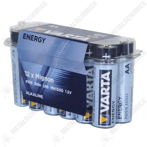 Baterii Varta energy AA pachet 12 bucati