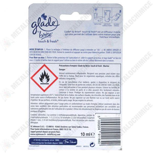 Glade microspray marine 10 ml