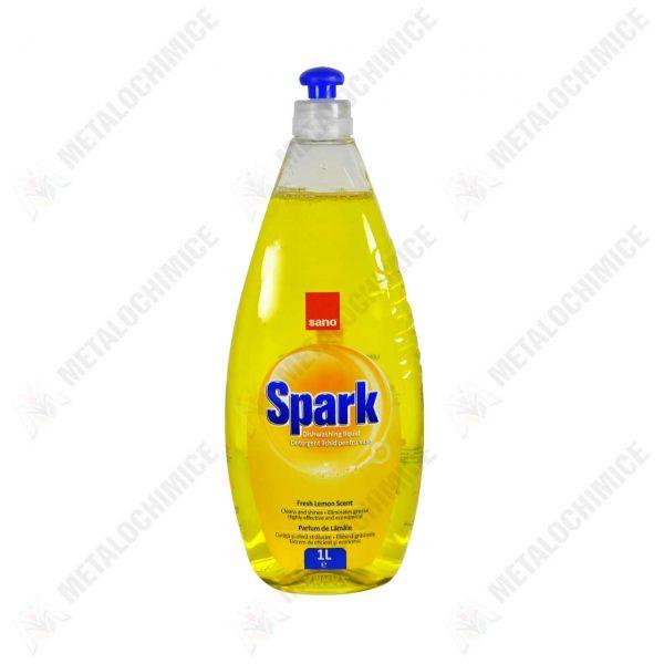 sano spark detergent vase 1l fresh lemon