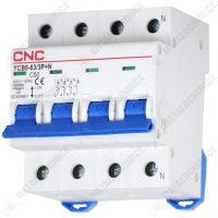 CNC Siguranta automata tetrapolara 50A 4P 4.5Ka  din categoria Sigurante