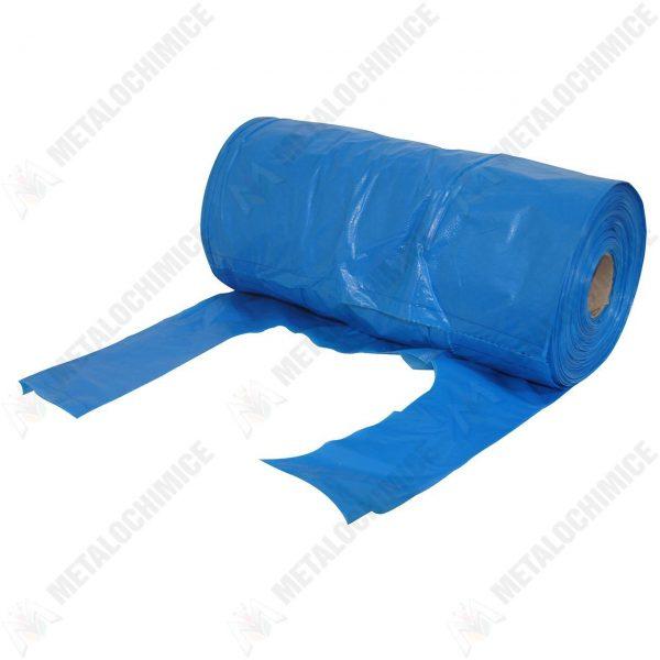 Pungi plastic albastre