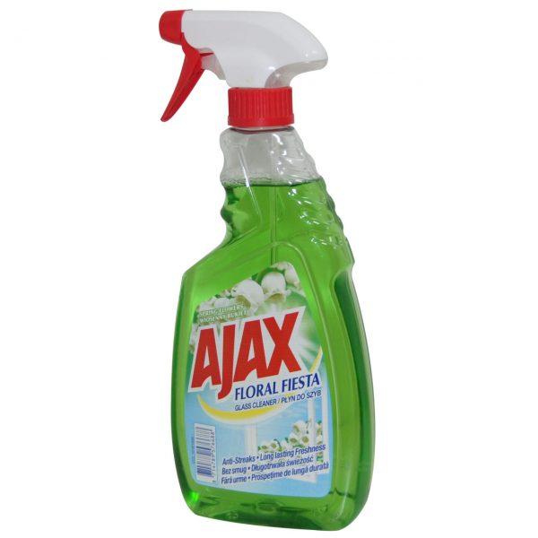 Ajax solutie geam cu pulverizator spring flowers